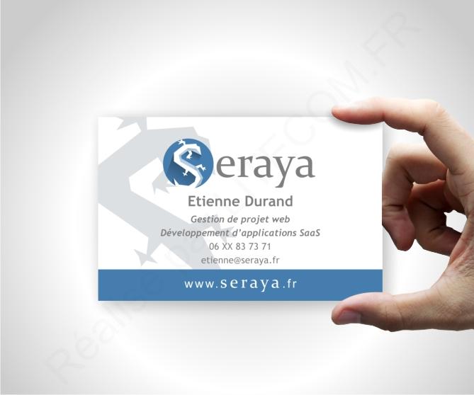 Carte de visite Seraya