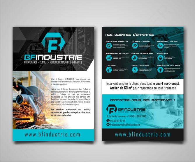 Flyer BF Industrie